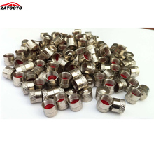 ZATOOTO (500 pieces /lot ) Wholesale Tire Wheel Rims Stem Air Valve Caps Tyre Cover Car Truck Bike Dust Cap(China)