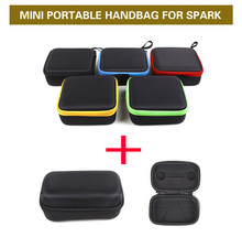 Multicolored Mini DJI Spark Drone Body Remote Controller Transmitter Portable Handbag Handheld Storage Bag Box for DJI Spark(China)
