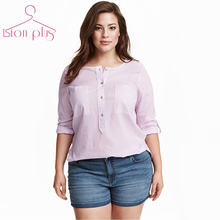 Preppy Style Shirt Women Plus Size 6XL 5XL 4XL XXXL 2017 Spring Classic Solid Long Sleeve Female Shirts Oversized Clothes Women