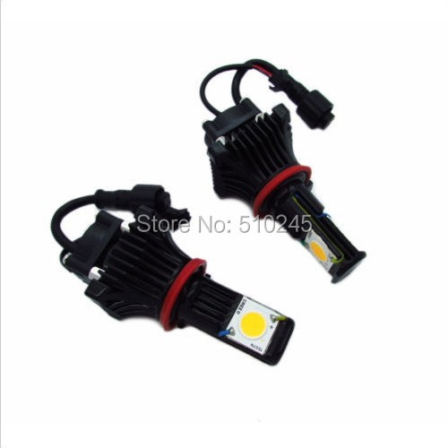 10 SET X 12V / 24V cree CXA1512 car Auto H8 / H9 / H11 6000k LED headlight bulbs h9 led 30W 1800LM free shipping<br><br>Aliexpress