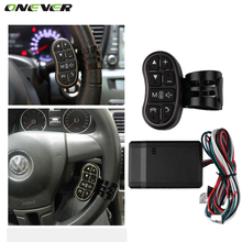 Onever Car steering wheel button remote control car navigation DVD / 2 din android Bluetooth wireless Universal remote control