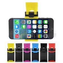 Universal Car Steering Wheel Bike Clip Mount Rubber Band Holder For iPhone Samsung Lenovo HTC iPod Mobile Phone Bracket covers