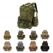 Lixada Outdoor Military Tactical Backpack Climbing Rucksack Cycling Army Bag with MOLLE Webbings Sport Camping Travel Hiking Bag