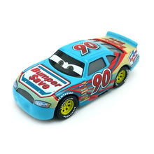 Disney Pixar Cars 3 No.90 Ponchy Wipeout Metal Diecast Toy Car 1:55 Loose Brand New In Stock & Free Shipping(China)