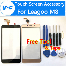 Leagoo M8 Touch Screen 100% New Digitizer Touch Glass Panel Replacement For Leagoo M8 Pro Smart Phone in Stock