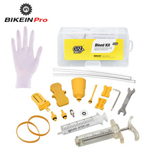 EZ's Bicycle Hydraulic Brake Bleed Kit For Shimano/TEKTRO/Magura MT Seires Suit Mineral Oil Brake System Bicycle Repair Tools(China)