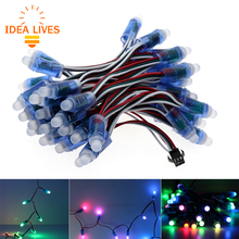 WS2811 RGB LED Module IP68 Waterproof DC12V Full Color LED Pixel Module String Point Lights 50pcs/ lot