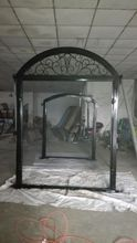 Shanghai China factory producing  wrought Iron doors high quality export to U.S ,model  hench-ad35