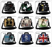 neoprene Computer Bag Notebook PC Cover tablet Sleeve Case 10 12 13 14 15 17 inch Laptop Shoulder Bag Pouch Top quality