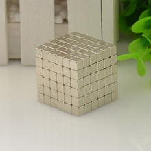 Magnetic Blocks Cube Size: 3mm, 4mm, 5mm Neo Magic Cube Block Nickel Magnet Toyl Magic Toy Metal Box+bag+card