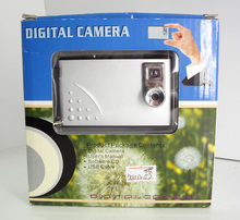 Freeshipping Hot Sell Digital Camera with 4x Digital Zoom 640x480 pixels (VGA) Photo Resolution DC-130BTG