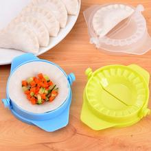Kitchen Tools DIY Creative Plastic Pinch Dumpling-maker Manual Dumpling-making Machine Color Random Delivered(China)
