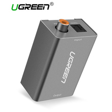 Ugreen Digital to Analog Audio Adapter Optical Coaxial Toslink to 3.5mm Audio with DC5V/2A EU Plug Converter Adapter for TV(China)