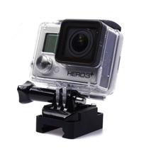 CNC Aluminum 20mm Picatinny Weaver Gun Rail Hunting Airsoft Cam MiNi Rail Camera Mount For Gopro Hero 4 3+/3/2/1