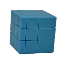 Kingcube Fangge Mirror Blue 3x3 Magic cube Mirror Blue Speed cube