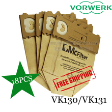 18X Vacuum cleaner dust bag  for  VORWERK KOBOLD VK130 VK131 FP130 FP131 Vacuum Dust Bags