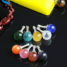 Fashion Opal Cat Eye Stone Anti Dust Plug 3.5mm Earphone Jack for Xiaomi Redmi 4 Pro Prime 4S/4/4A/Note 4 iPhone 7 plus