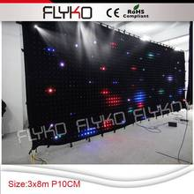 Free shipping new products on china market led video display P10 3X8M