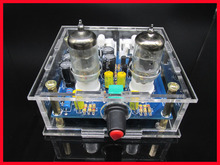 TIANCOOLKEI 6J1 tube preamp amplifier board Pre-amp Headphone amp 6J1 valve preamp bile buffer diy kits