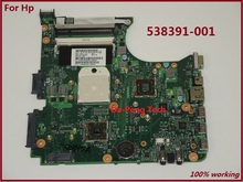 Free Shipping 538391-001 for HP compaq 515 615 CQ515 CQ615 laptop motherboard 100% full tested OK
