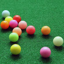 Free Shipping 5PCS Colorful Golf Game Ball Two Layers High-Grade Golf Ball Wholesale Direct Manufacturer Promotion Golf Balls(China)