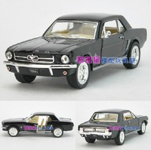 Candice guo! Hot sale Super cool 1:36 mini Ford 1964 Mustang alloy model car toy good for gift 1pc