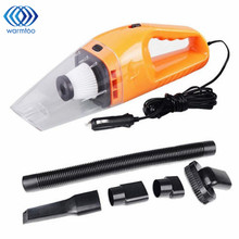 12V 120W 4000PA Super Suction Mini Handheld Vacuum Cleaner Dust In-Car Portable Wet & Dry For Car Home Office(China)