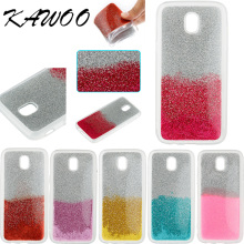 Buy Sparkly Gel Bling Glitter Soft Silicone Hybrid Back Case Cover Samsung Galaxy J3 J5 J7 2017 J330 J530 J730 EU Version Capa for $2.09 in AliExpress store