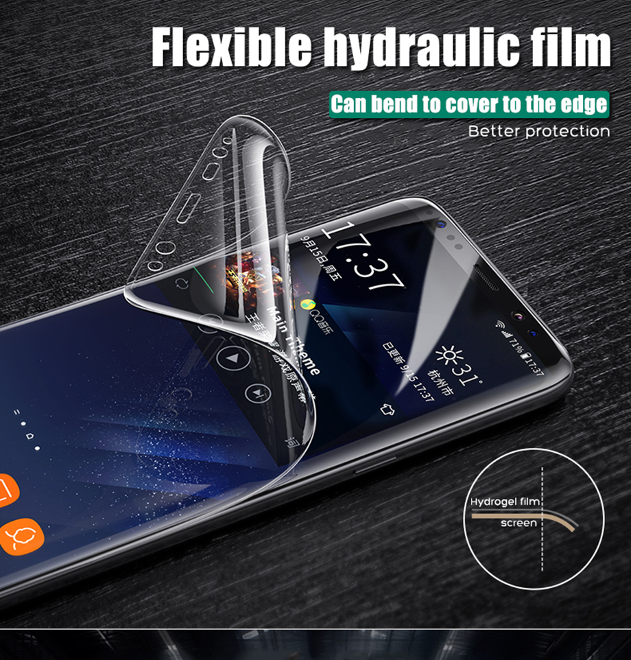 2-PC-For Samsung Galaxy S8 S9 Screen Protective For Samsung Galaxy Note 8 9 Film