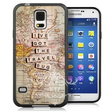 Buy lve got the travel bug Style Soft TPU Skin Mobile cell phone bags case cover for iphone 4S 5S 5C SE 6S 7 PLUS Samsung S3 S4