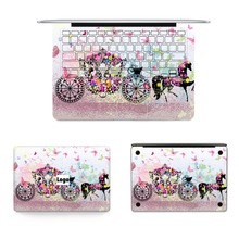 Hot Sale Laptop Full Skins For Macbook Sticker Vinyl Decal Cinderella's Carriage Skin For Apple Air Retina Pro Notebook Sticker
