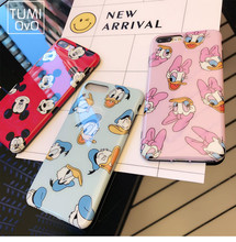 Buy Luxury Cartoon Mickey Minnie Mouse Case iPhone 6 6s Plus Cover Phone iPhone 7 Plus Cases Daisy Duck Capa Fundas Soft TPU for $2.53 in AliExpress store