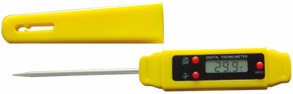 all-sun ETP109B Food Portable Digital Thermometer Electronic Temperature Meter With Stainless Probe(China)