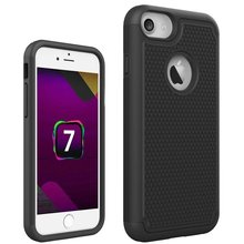 Football pattern Cover Case For apple iphone 7 Hybrid Dual layer Heavy Duty Shockproof cover case slim Armor protect shell
