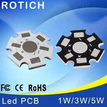 1W 3W 5W LED Lamp High quality PCB Board, 20mm LED Aluminum Base plate for high power LED Beads