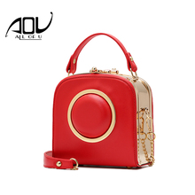 AOU 2017 luxury handbags women bags designer camera women's handbags Frame women messenger bags shoulder bag bolsa feminina