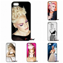 For iPhone 4 4S 5 5C SE 6 6S 7 Plus Samung Galaxy J5 J3 J7 A5 A3 S7 S6 Edge P!nk Alecia Beth Moore Print Hard Phone Case Cover