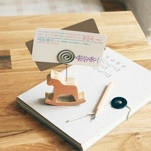 fast delivery 50pcslot wedding favor original wood styling notes folder photo folders place card holder