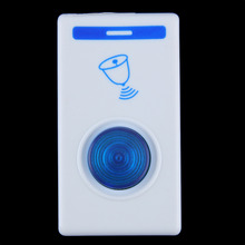 NFLC 2016 Waterproof Twin Dual Portable Digital LED Wireless Remote Control Doorbell Door Gate Cordless 32 Chime Song 100M Range