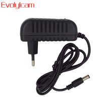 Evolylcam 12V2A Power Supply AC/ DC Power Adapter For Security CCTV Camera System NVR DVR Converter US/ EU/ UK/ AU Plug Charger