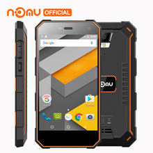 "5000mAh NOMU S10 Mobile Phone Android 6.0 Quad Core MTK6737 5.0"" Cell Phone 2GB RAM 16GB ROM 8MP IP68 Waterproof 4G Smartphone(China)"