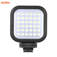 Original Godox LED36 LED Video Light 36 LED Lights Lamp Photographic Lighting 5500~6500K for DSLR Camera Camcorder mini DVR