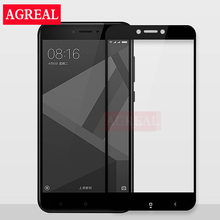 Buy Full Screen Protective Tempered Glass Xiaomi Redmi Note 4X Redmi 4X 9H Protector Film Redmi Note 4X glass Full cover for $1.41 in AliExpress store