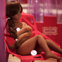 Buy 105cm real silicone sex dolls adult mini japanese love doll realistic oral vagina soft small breast anime full size doll men
