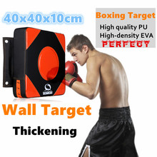Buy 40*40*10Thicken boxing pad Punch mitts pads hang wall target MMA focus muay thai fighting Grappling foot targets sport equipment for $12.73 in AliExpress store