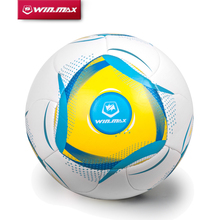 2015 Winmax New Design Slip-Resistant Standard Size 5 3mm PU Machine Stitched Football Ball Soccer Ball