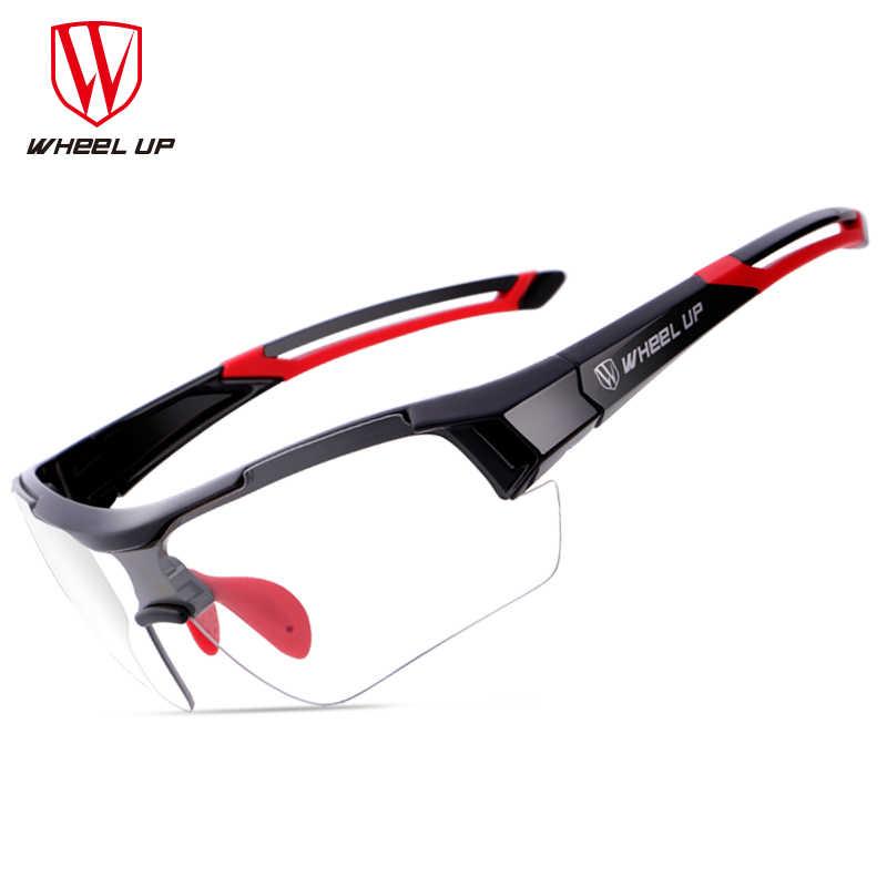 fccdfc5d818 WHEEL UP Photochromic Cycling Bike Bicycle Glasses UV400 MTB Outdoor Sport  Sunglasses Goggles Bike Eyewear Myopia