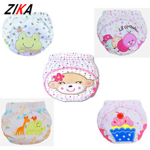 ZIKA 2017 1 Pcs Baby Boys Girls Washable Diapers Cute Cloth Newborn Reusable Diapers Nappies Cotton Training Panties Diapers
