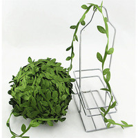 5 Meter Seide Blattförmige Handmake Künstliche Grüne Blätter Für Hochzeit  Dekoration DIY Kranz Geschenk Scrapbooking Handwerk