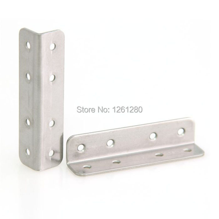 free shipping 90mm metal corner stainless steel furniture fitting thicken Connector  hardware DIY part Reinforcement household<br><br>Aliexpress
